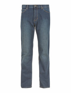 M&S Collection Regular Fit Stretch Jeans with Stormwear