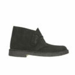 Clarks Originals Men's Desert Boots - Black Suede