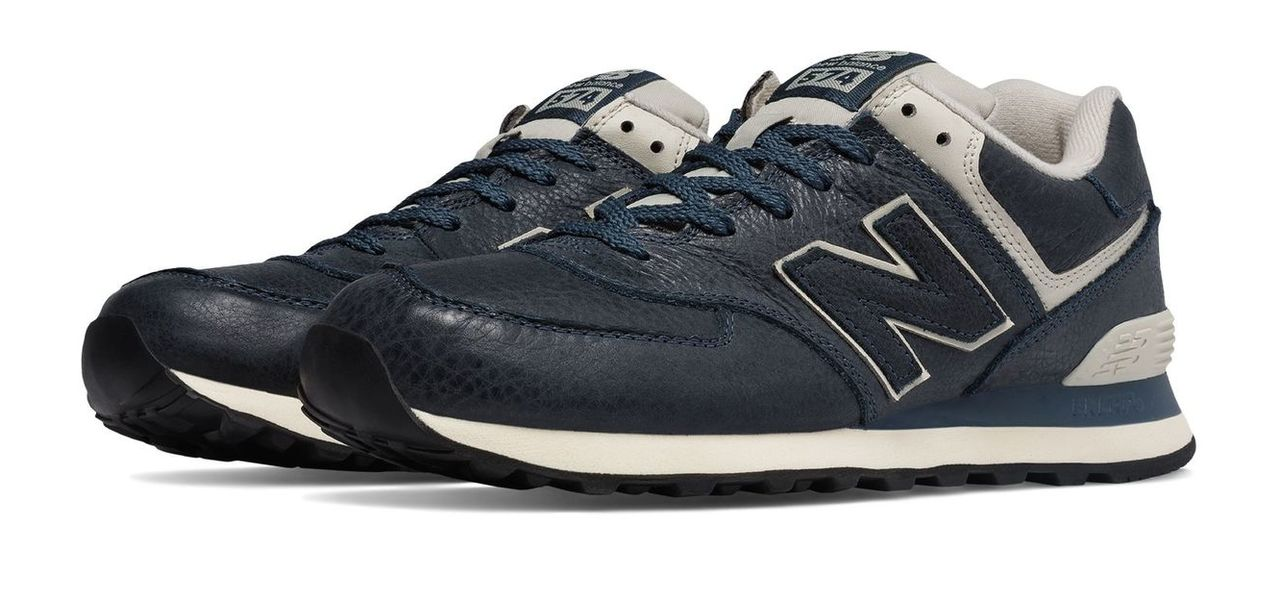 New Balance 574 Leather Men's Classic 574 ML574LUB