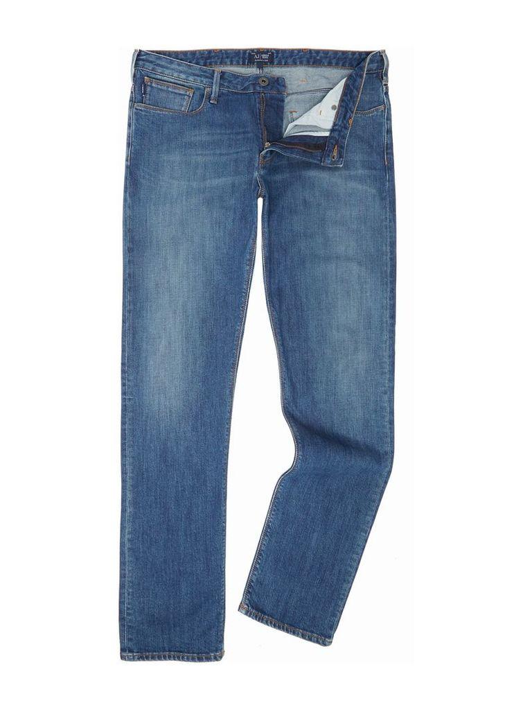 2f3dbdb36c2a Men s Armani Jeans J06 slim fit dark wash jeans