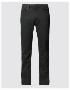 M&S Collection Straight Fit Stretch Jeans