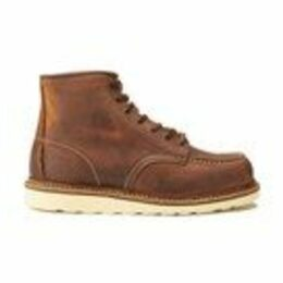 Red Wing Men's 6 Inch Moc Toe Double Welt Leather Lace Up Boots - Copper Rough and Tough - UK 9/US 10 - Tan