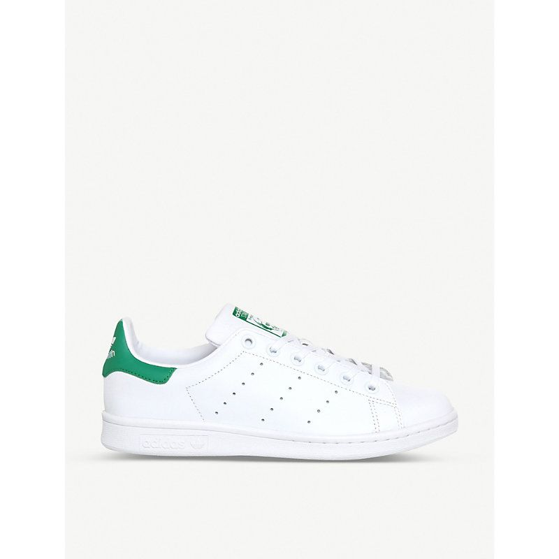 Adidas Stan Smith leather trainers, Mens, Size: 06/01/1900, Core white green