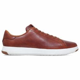 Cole Hann GrandPrø Tennis leather trainers, Mens, Size: EUR 45 / 11 UK MEN, Brown