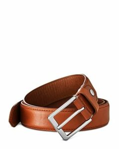 Shinola Men's Brindle Leather Bombe Tab Belt