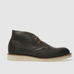 Red Wing Charcoal Work Chukka Boots
