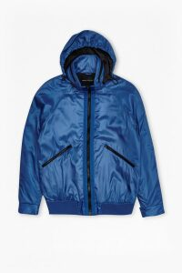 W.H. Lane Wadded Turini Jacket - snorkel blue