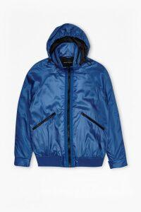 W.H. Lane Wadded Turini Jacket - snorkel blue