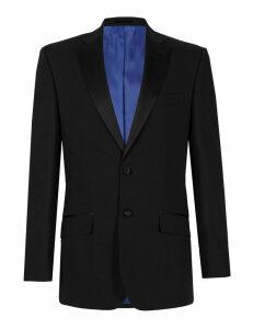 M&S Collection Big & Tall Black Regular Fit Jacket