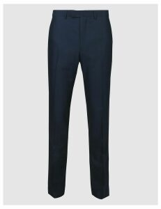M&S Collection Indigo Slim Fit Trousers