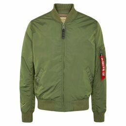 Alpha Industries MA1-TT Olive Shell Bomber Jacket