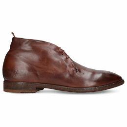 3-eye leather desert boots