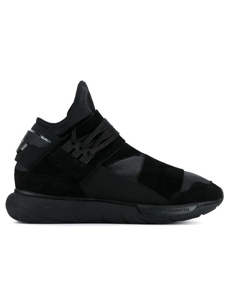 4961cbd193343 Y-3 Y-3 -  Qasa High  sneakers - men - Calf Leather Leather Nylon rubber -  10