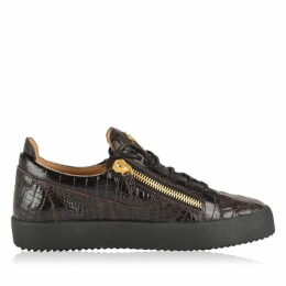 Giuseppe Zanotti Crocodile Leather Trainers