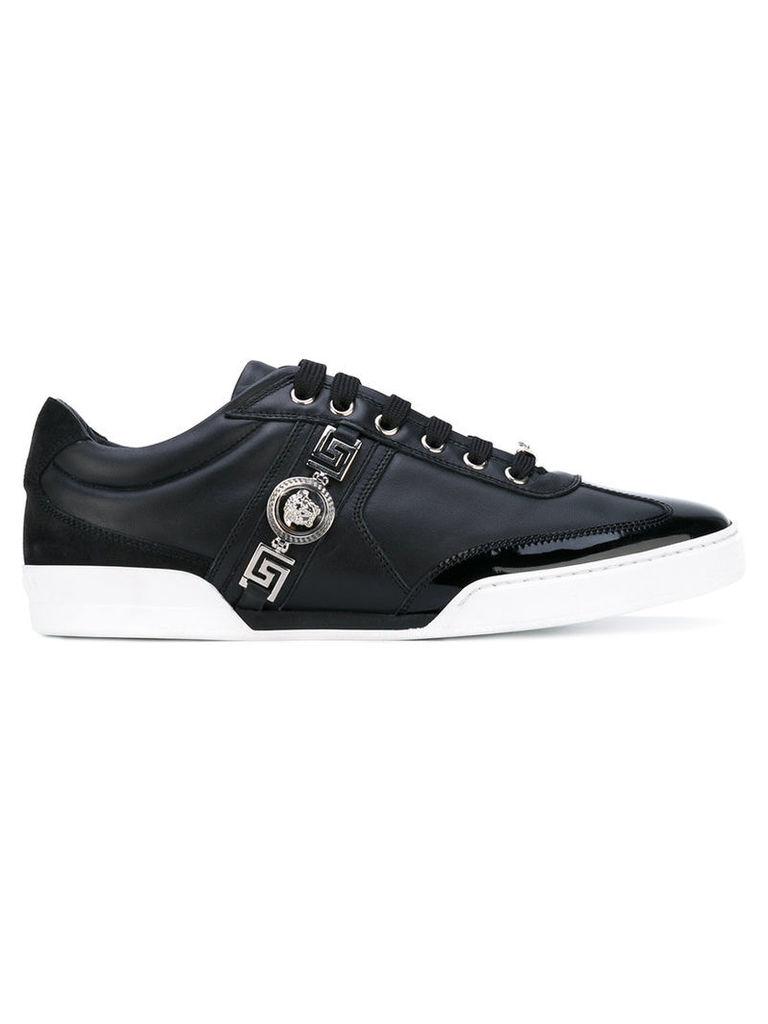 64d301aea3ea9 Versace - signature Medusa Crest sneakers - men - Leather/Patent  Leather/Suede/