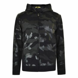 Valentino Camouflage Print Hooded Sweatshirt