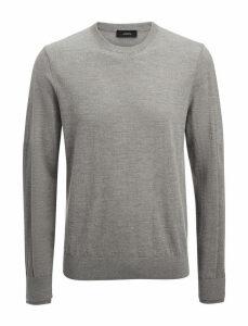 Merinos + Rib Patch Sweater