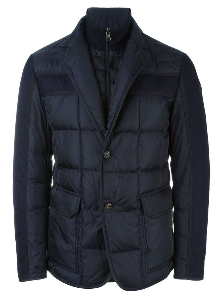6192b5a607b0 Moncler - Ardenne jacket - men - Feather Down Polyamide Wool - 3 ...