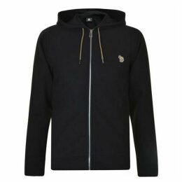 PS by Paul Smith Logo Hooded Zip Sweatshirt