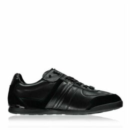 Boss Aki Leather Panelled Trainers