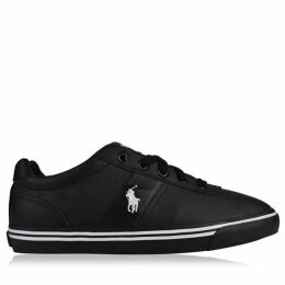 Polo Ralph Lauren Leather Hanford Low Top Trainers