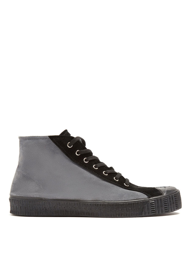 5b848be98bcb X Spalwart Special mid-top suede trainers by COMME DES GARÇONS SHIRT ...