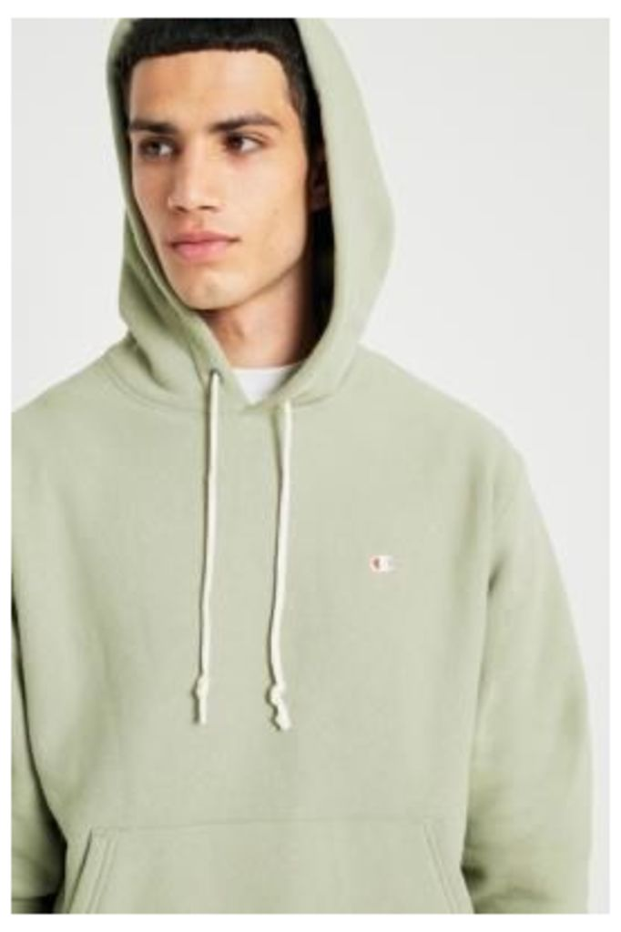 68a09376b Champion Sage Reverse Weave Hoodie, Taupe by Champion   Snap Fashion ...