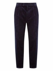 Raey - Elephant Corduroy Trousers - Mens - Navy