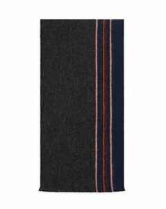 The Men's Store at Bloomingdale's Reversible Border Pencil Stripe Scarf - 100% Exclusive