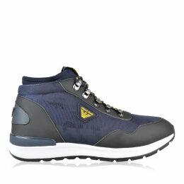 Armani Jeans Jacquard Boots