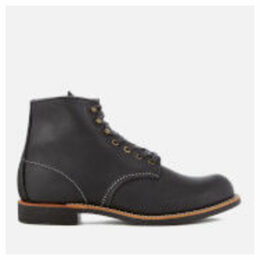 Red Wing Men's Blacksmith 6 Inch Leather Lace Up Boots - Black - UK 8