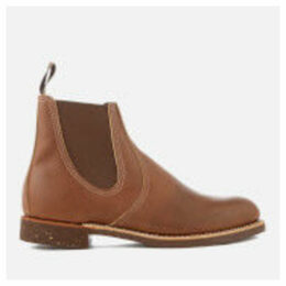 Red Wing Men's Chelsea Rancher Leather Boots - Amber - UK 11 - Tan