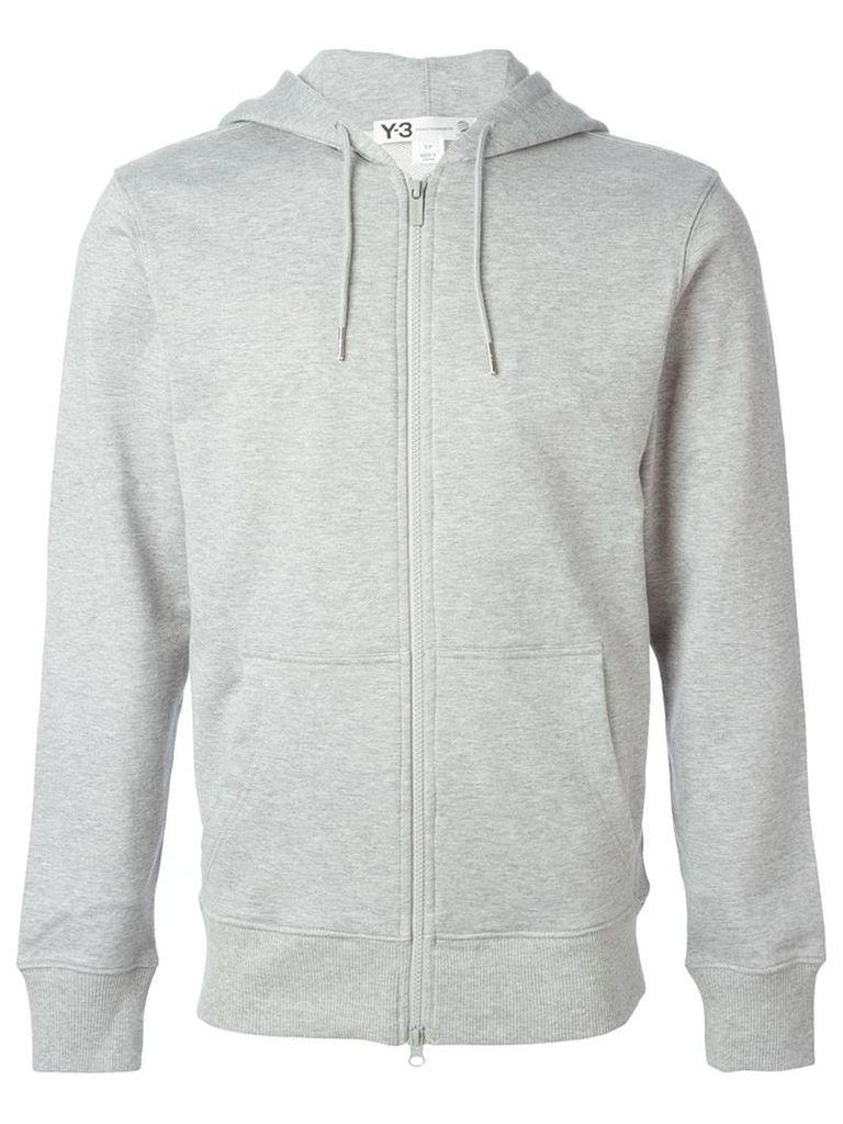 Y-3 zipped hooded jacket