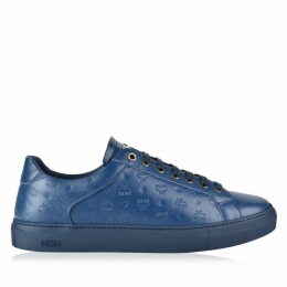 MCM Visetos Embossed Low Top Trainers