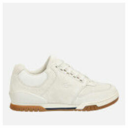 Lacoste Men's Indiana 316 Trainers - Off White - UK 10 - White