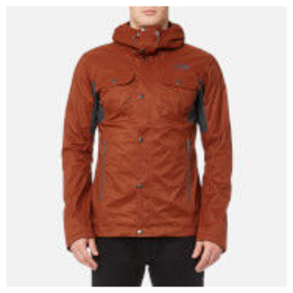 dbb958ab0c91 The North Face Men s Arrano Jacket - Brandy Brown Asphalt Grey - S - Brown