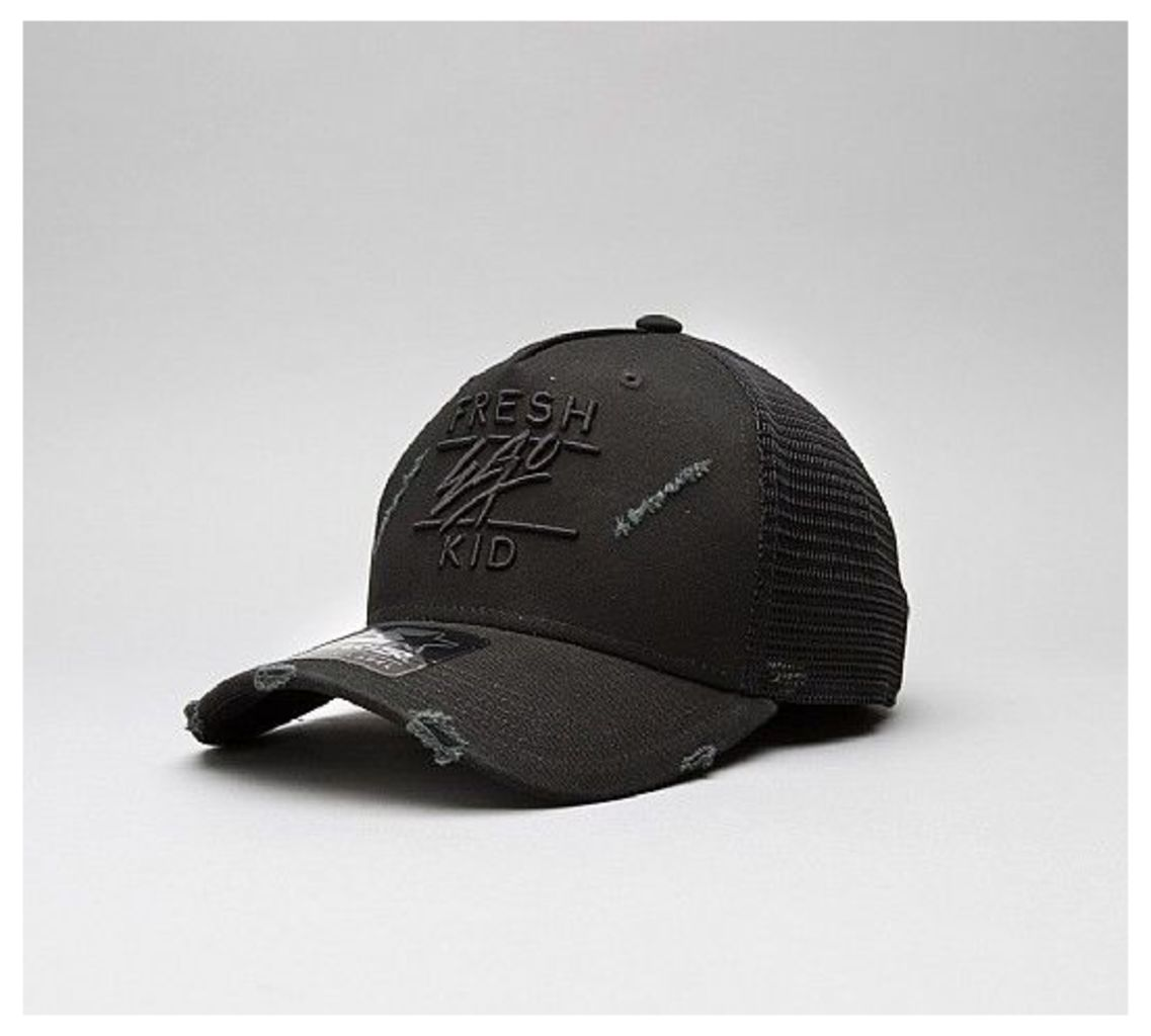Ripped Trucker Cap