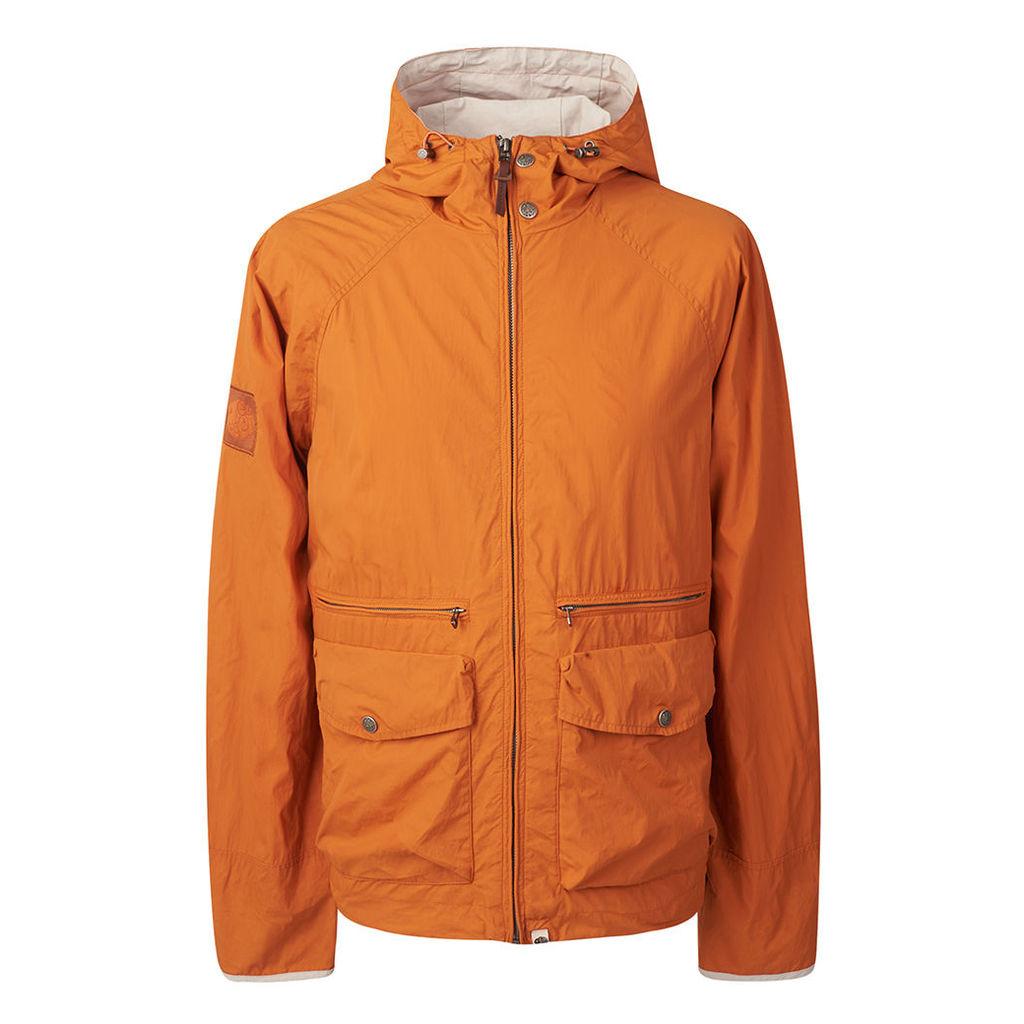 426ef23a4a12 Pretty Green Men s Lightweight Hooded Jacket - Orange - S by Pretty ...