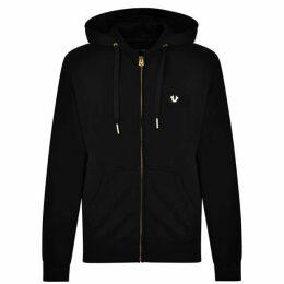 True Religion Logo Hooded Sweatshirt