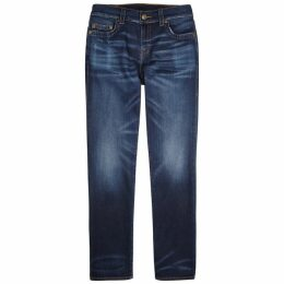 True Religion Ricky Dark Blue Straight-leg Jeans