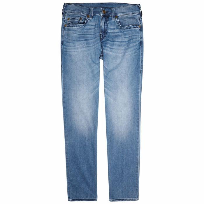 True Religion Geno Light Blue Straight-leg Jeans