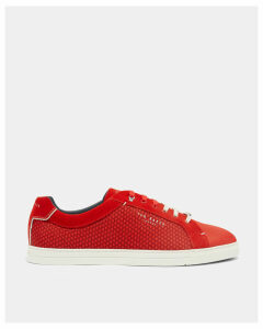 Ted Baker Geo print trainers Bright Red