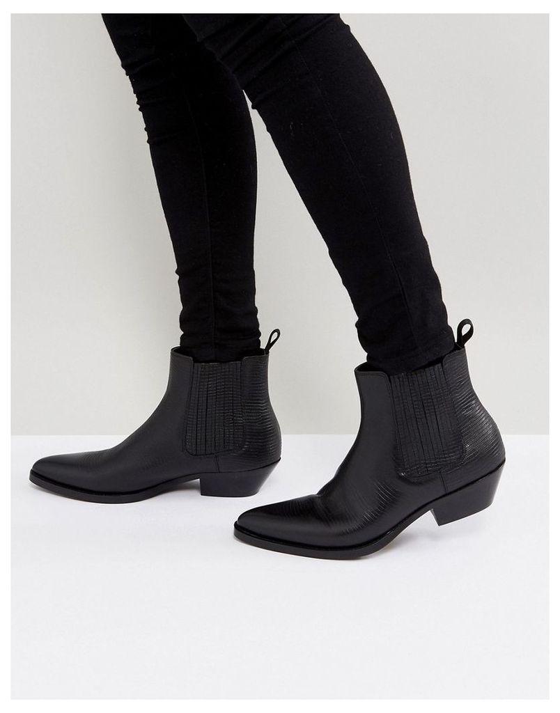 d1ce7bc61aa7 ALDO Etigovia Leather Chelsea Boots In Black - Black by ALDO