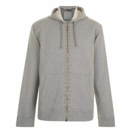 VALENTINO Rockstud Zip Hooded Sweatshirt