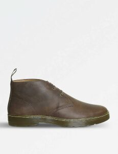 Cabrillo Crazy Horse leather desert boots