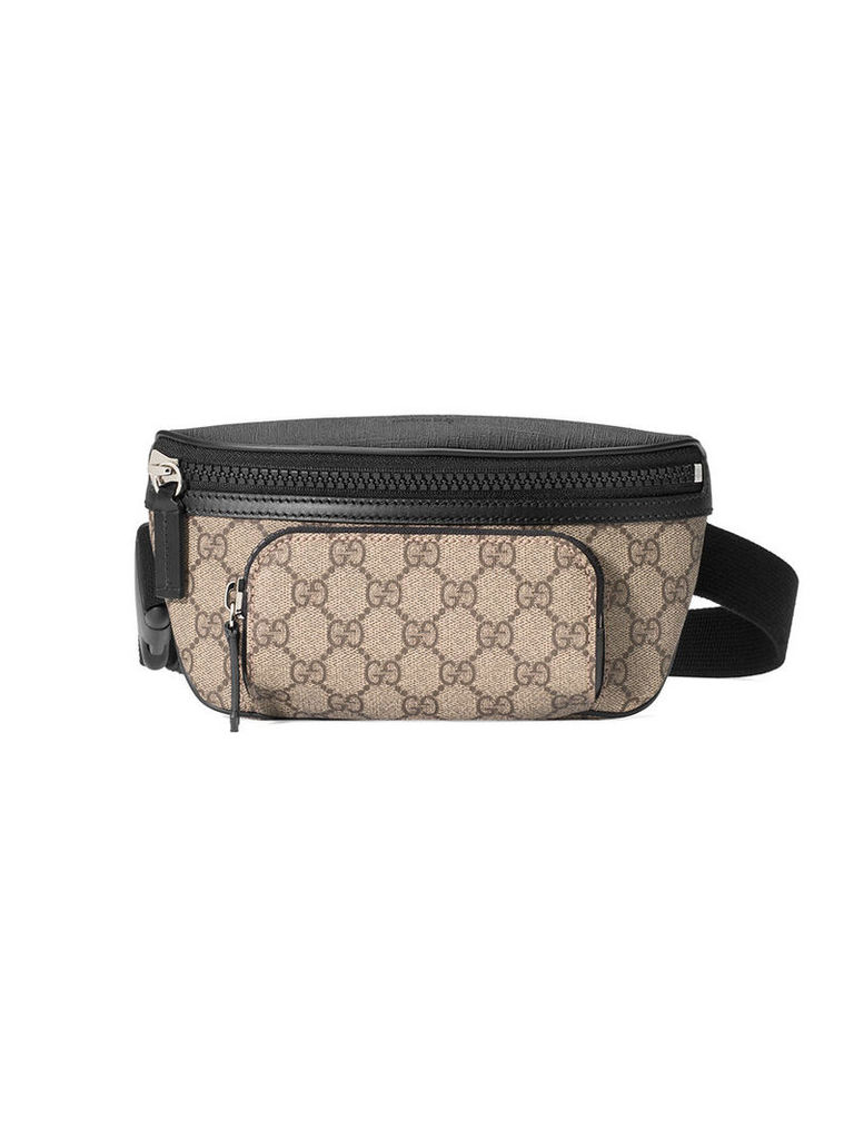 55044db51f5 Gucci - GG Supreme belt bag - men - Canvas Leather rubber Microfibre ...