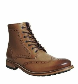 Ted Baker Sealls 3 Brogue Boot TAN LEATHER