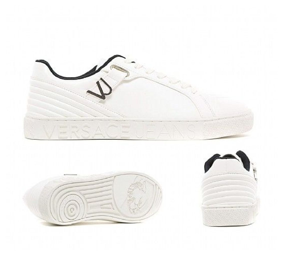 c9c82cd1f7d Cupsole Linea Cassetta Coated Trainer by Versace Jeans