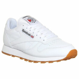 Reebok CL leather trainers