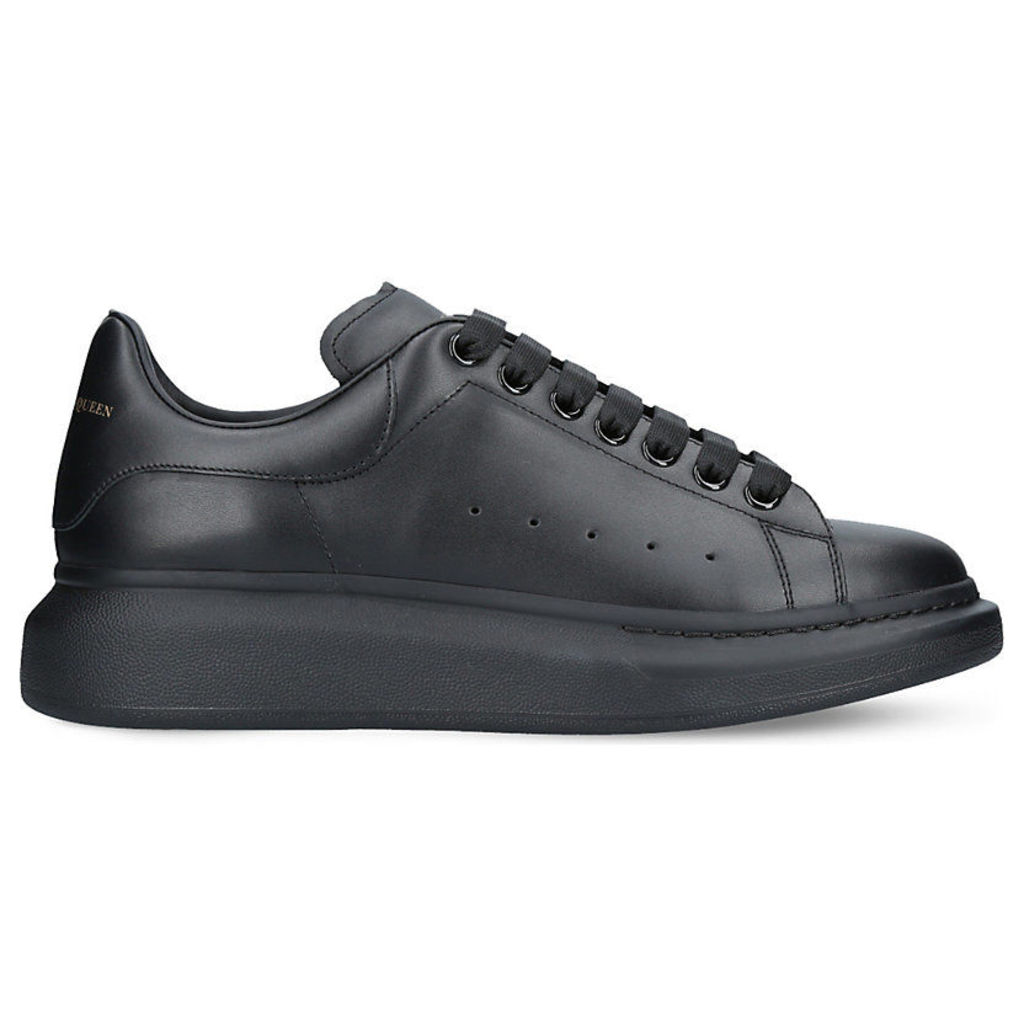 022296a47289 Alexander Mcqueen Show leather platform trainers